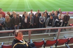 THG meets Sunderland College