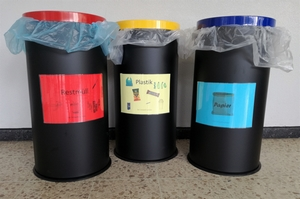 Konsequente Mülltrennung am THG